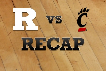 Rutgers vs. Cincinnati: Recap, Stats, and Box Score