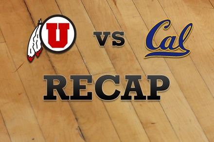 Utah vs. California: Recap, Stats, and Box Score