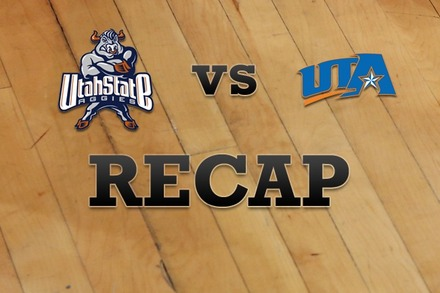 Utah State vs. Texas-Arlington: Recap, Stats, and Box Score
