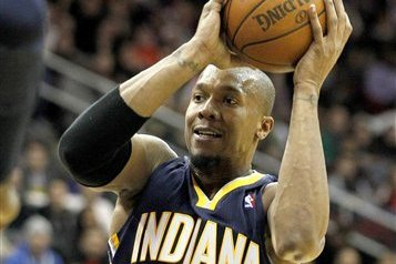 Pacers' West out Due to Sprained Lower Back
