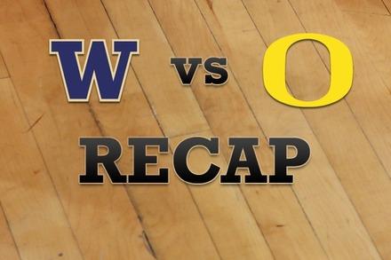 Washington vs. Oregon: Recap, Stats, and Box Score