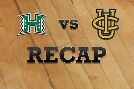 Hawaii vs. UC Irvine: Recap, Stats, and Box Score