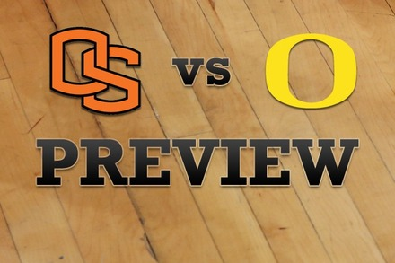 Oregon State vs. Oregon: Full Game Preview