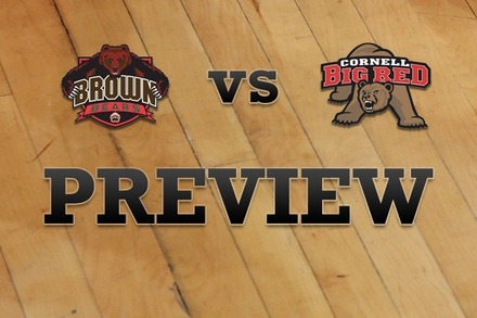 Brown vs. Cornell: Full Game Preview
