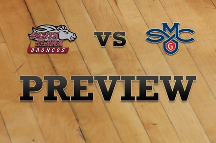 Santa Clara vs. Saint Mary's: Full Game Preview