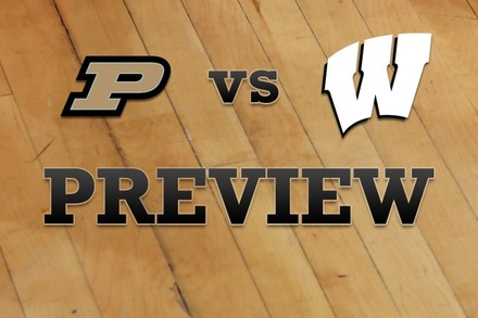 Purdue vs. Wisconsin: Full Game Preview