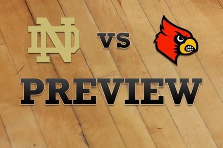 Notre Dame vs. Louisville: Full Game Preview