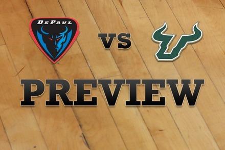 DePaul vs. South Florida: Full Game Preview