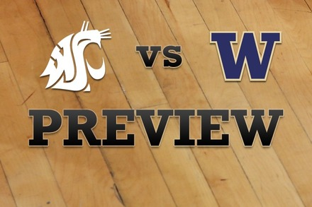 Washington State vs. Washington: Full Game Preview