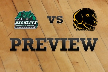 Binghamton vs. UMBC: Full Game Preview