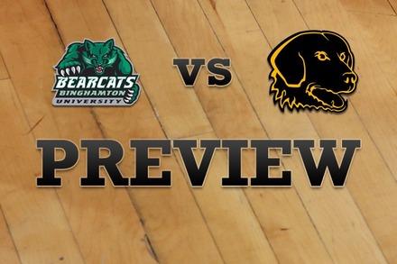 Binghamton vs. UMBC: Full Game Preview