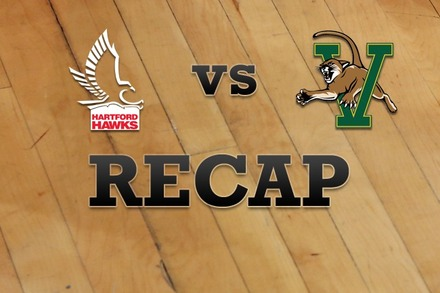 Hartford vs. Vermont: Recap, Stats, and Box Score