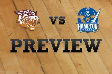 Bethune-Cookman vs. Hampton: Full Game Preview
