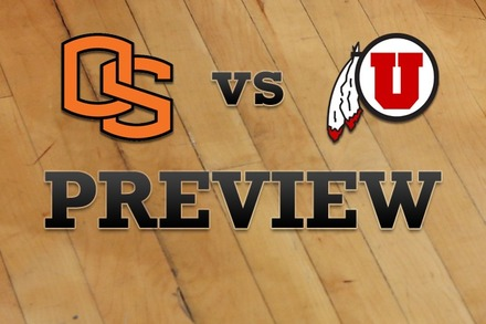 Oregon State vs. Utah: Full Game Preview