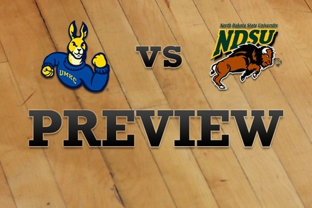 UMKC vs. North Dakota State: Full Game Preview