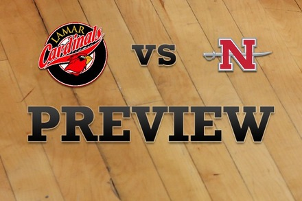 Lamar vs. Nicholls State: Full Game Preview
