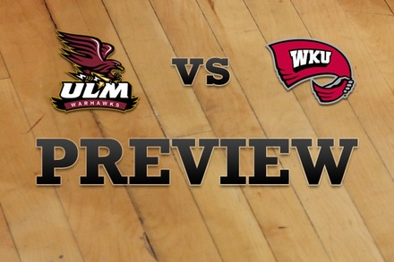 Louisiana-Monroe vs. Western Kentucky: Full Game Preview