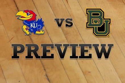 Kansas vs. Baylor: Full Game Preview