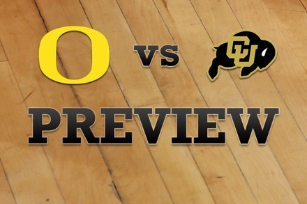 Oregon vs. Colorado: Full Game Preview