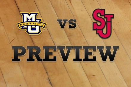 Marquette vs. St John's: Full Game Preview