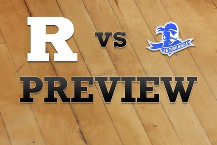 Rutgers vs. Seton Hall: Full Game Preview