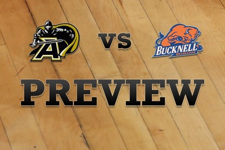 Army vs. Bucknell: Full Game Preview
