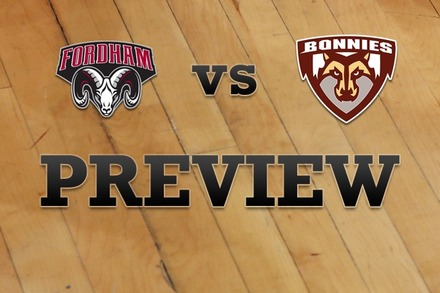 Fordham vs. St. Bonaventure: Full Game Preview