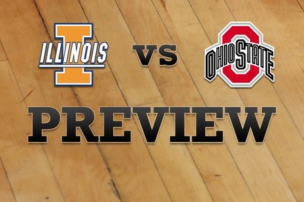 Illinois vs. Ohio State: Full Game Preview