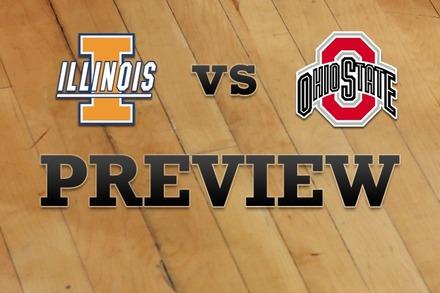 Illinois vs. Ohio State: Full Game Preview
