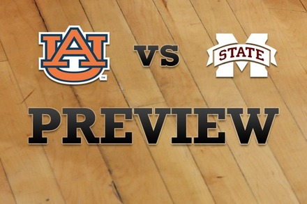 Auburn vs. Mississippi State: Full Game Preview