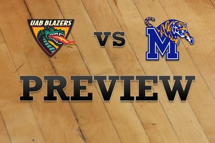 UAB vs. Memphis: Full Game Preview