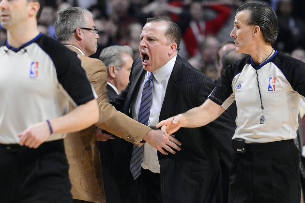 Controversial Finish Leaves Bulls' Thibodeau Fuming