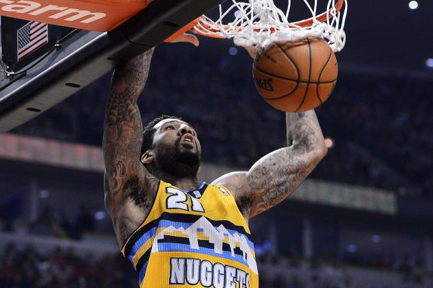 Wilson Chandler Vying for Sixth Man Honors Coming off Nuggets' Bench