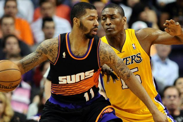 NBA Gamecast: Lakers vs. Suns