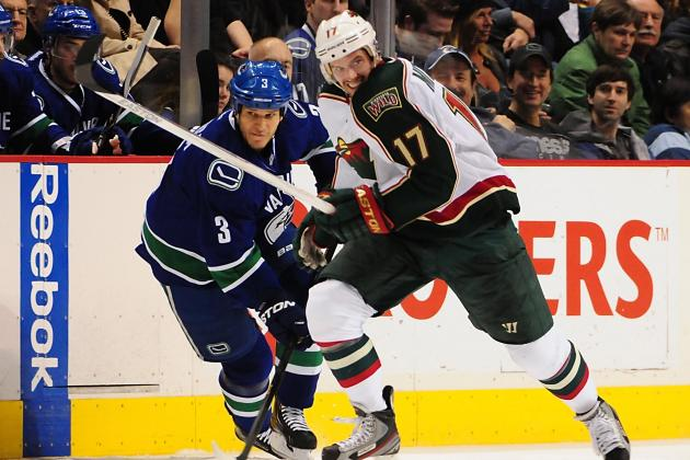 Wild Trip Canucks in Battle for Northwest Lead