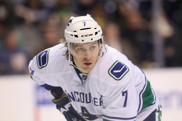 David Booth out Indefinitely with Ankle Sprain