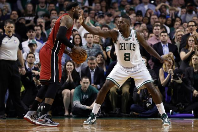 Jeff Green Gives Celtics Outside Shot at LeBron's Heat Come Playoffs