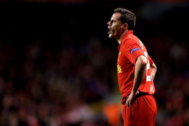 Liverpool's Internal Options to Replace Jamie Carragher at Centre-Back