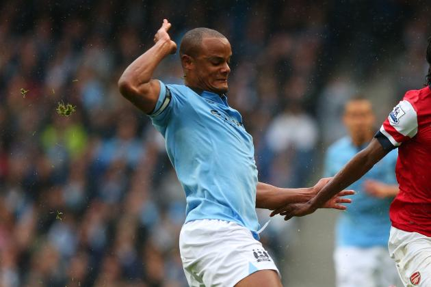 Manchester City Defender Vincent Kompany in Line for Belgium Duty