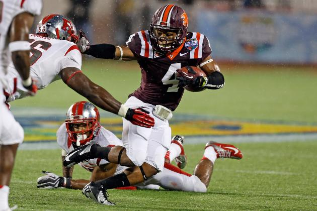 Breaking Down the Running Backs as the Hokies Prepare for Spring Practice
