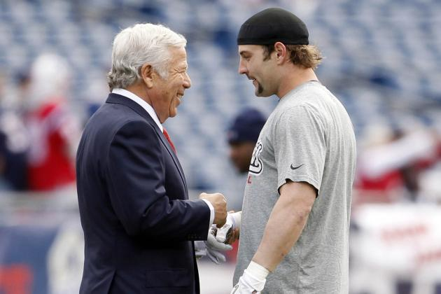 Robert Kraft, Wes Welker's Agents Differ on Split