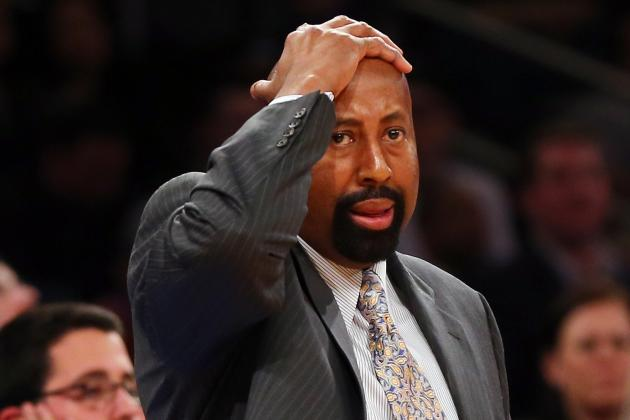 Injuries Leave Knicks with Odd Lineup