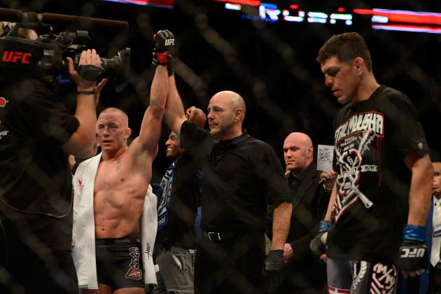 UFC 158 Results: What Will Nick Diaz's Legacy Be After Losing to GSP?
