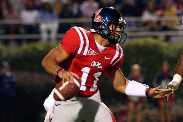 Ole Miss Back-Up QBs Struggle to Click in Practice