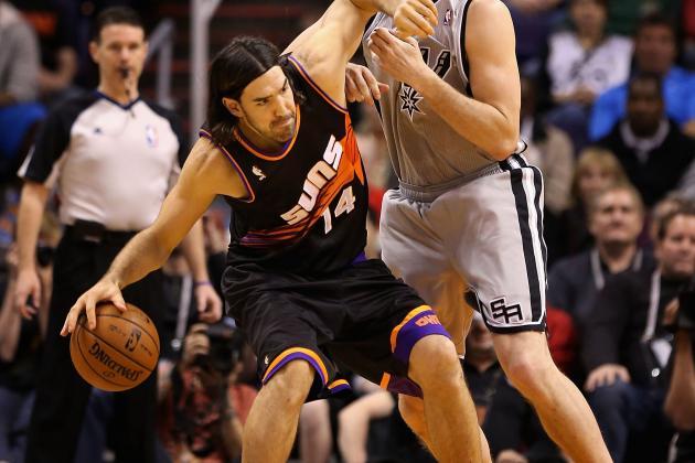 Phoenix Suns' Luis Scola Court Time Dwindles