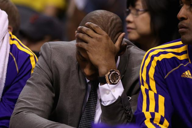 Kobe Bryant Injury: Blowout Loss Shouldn't Force Premature Return for Lakers SG