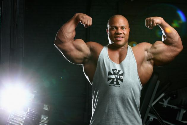 Mr. Olympia 2011: Phil Heath Goes from Basketball Star to Bodybuilding Legend