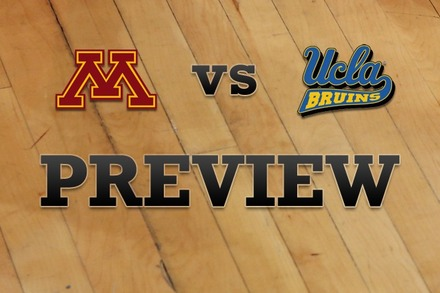 Minnesota vs. UCLA: Full Game Preview
