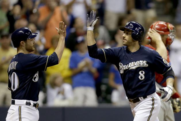 Ryan Braun, Jonathan Lucroy Return to Brewers