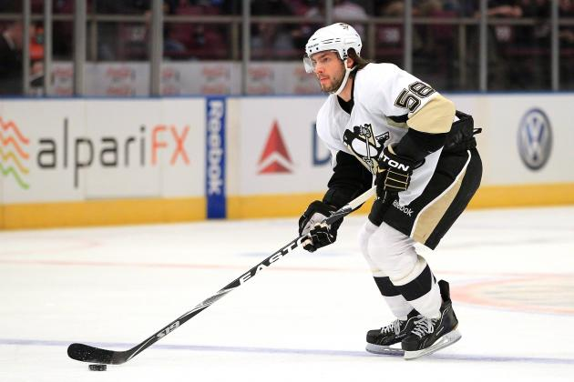 Malkin, Letang to Miss Game vs. Capitals